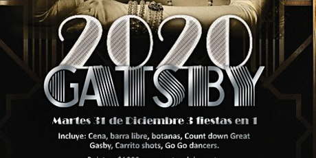 Great Gasby New Years Party entradas