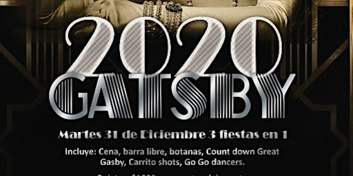 Great Gasby New Years Party