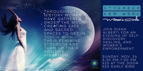 November New Moon Women's Circle tickets