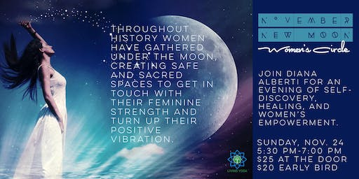 November New Moon Women's Circle