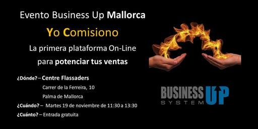 Evento Business Up PALMA DE MALLORCA (noviembre)