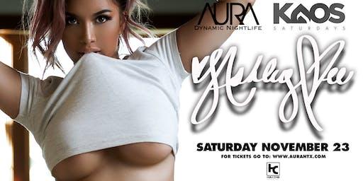 Ashley Vee at AURA, KAOS Saturdays Edition ft. Itzatrap! |11.23.19|