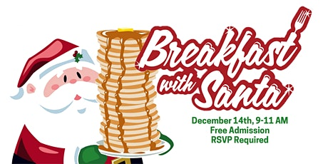 Breakfast with Santa & Mrs. Claus tickets