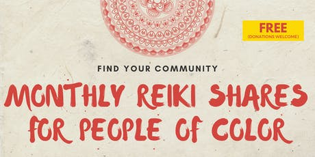 Reiki Shares for People of Color tickets