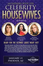 AN EVENING WITH THE CELEBRITY HOUSEWIVES tickets