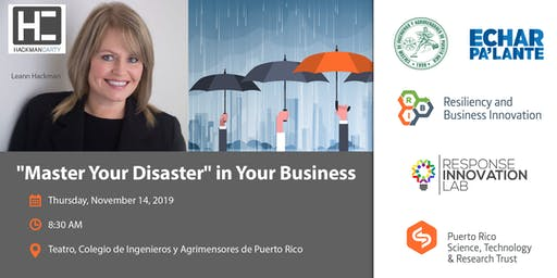"""""""Master Your Disaster"""" in Your Business"""