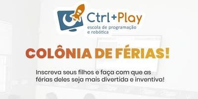 Colônia de Férias Ctrl+Play -Clubinho Game Zone -Goiânia Shopping- Dezembro