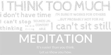First Sphere Meditation Course - Louisville, CO  (January) tickets