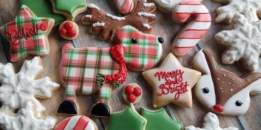 Beginner Christmas Cookie Decorating