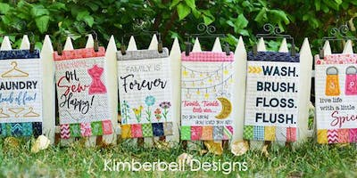 Make & Take: Kimberbell Mini Wall Hangings