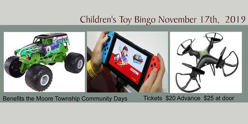 Children's Toy Bingo