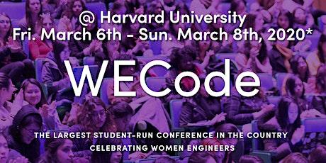Women Engineers Code (WECode) Conference tickets