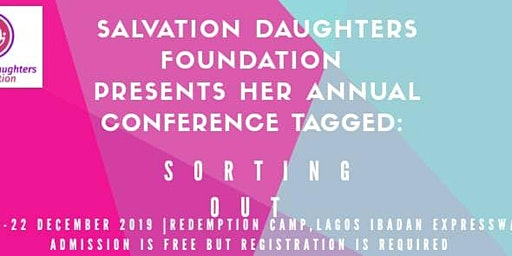Salvation Daughters Foundation Annual Conference