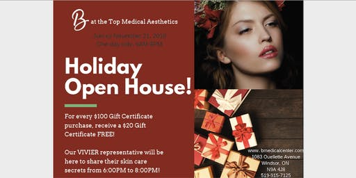 B at the Top Medical Aesthetics Holiday Open House