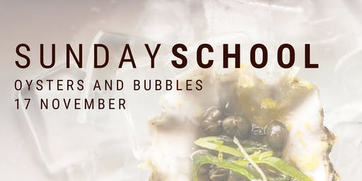 Bleu Duck Sunday School: Oysters and Bubbles