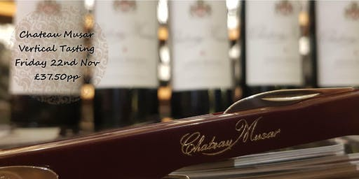 Chateau Musar Vertical Tasting