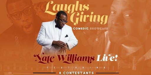 LaughsGiving-Comedic Showcase