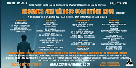 Research And Witness Convention 2020 tickets