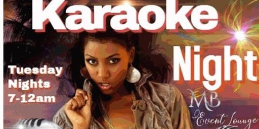 Karaoke Tuesdays in McDonough, GA @ MB EVENT LOUNGE
