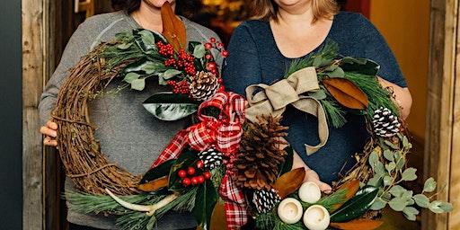 Boughs & Brews A Wreath Workshop at Pour!