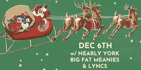 Nearly York // Big Fat Meanies // Lyncs tickets