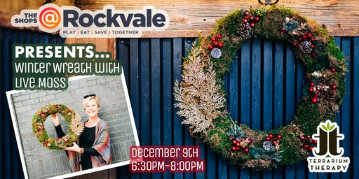 Winter Wreath with Live Moss Workshop at The Shops at Rockvale