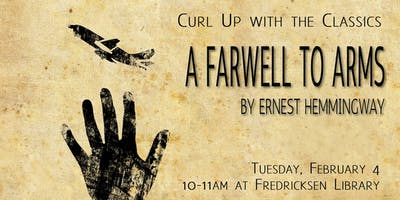 Curl Up with the Classics: A Farewell to Arms by Hemingway
