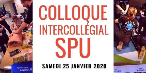 Colloque intercollégial SPU - 2e édition!