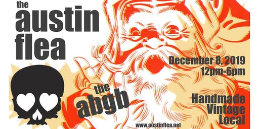 December's Austin Flea at the ABGB