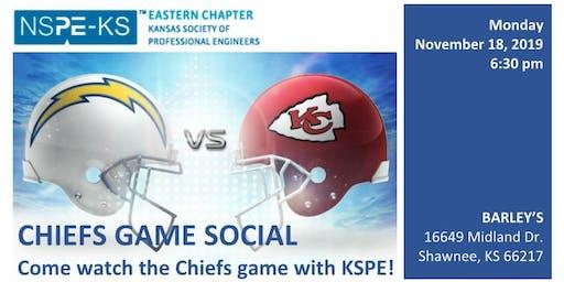 KSPE-EC Chiefs Game Social