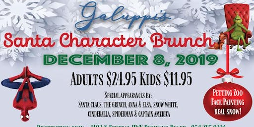 Character Brunch with Santa and Friends