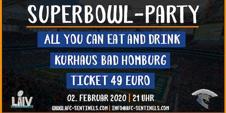Superbowl-Party 2020 [Bad Homburg Sentinels] Tickets
