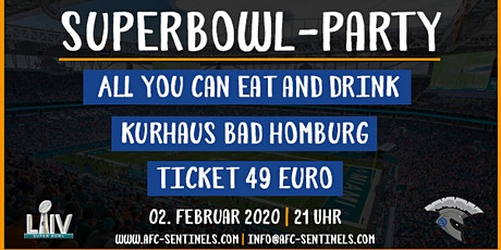 Superbowl-Party 2020 [Bad Homburg Sentinels] Tickets