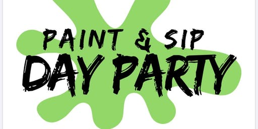 Paint & Sip Day Party