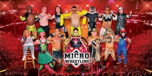 21 & Up Micro Wrestling at Cowboys!