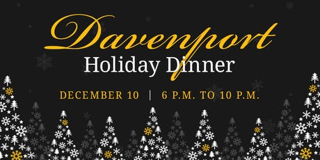 2019 Davenport Holiday Dinner tickets