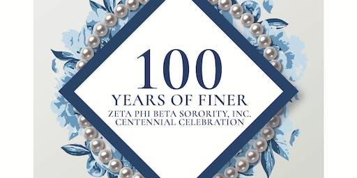 Zeta Phi Beta Sorority, Inc. Centennial Celebration - Epsilon Eta Zeta