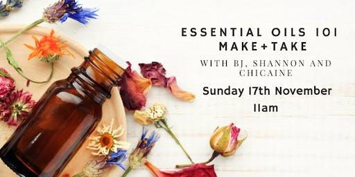 Essential Oils 101 Make + Take