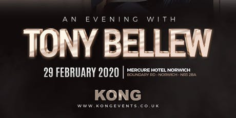 An Evening With Tony Bellew tickets