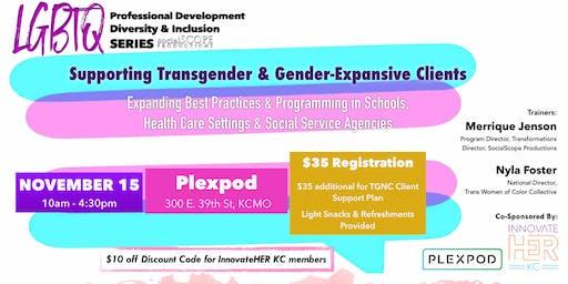 Supporting Transgender & Gender-Expansive Clients