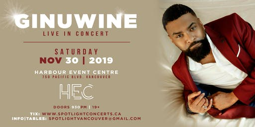 Ginuwine live in concert - Vancouver