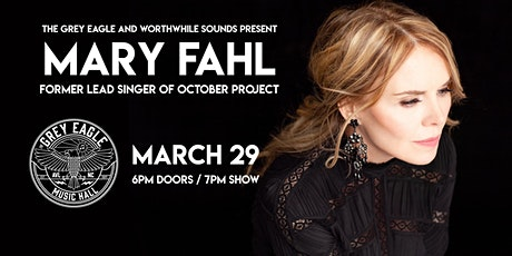 Mary Fahl (former lead singer of October Project) tickets