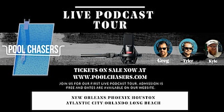 Pool Chasers Live Tour in Atlantic City tickets