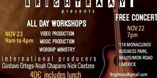 Brightraay Music Concert and  Workshop