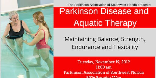 Parkinson Disease and Aquatic Therapy