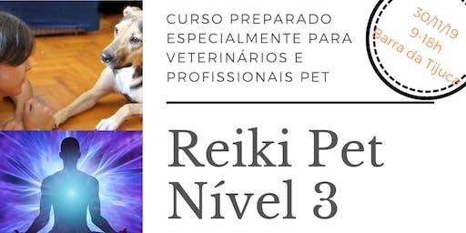 Curso Reiki Pet Nível 3 - Para Vets e Profissionais Pet