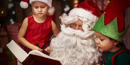 Storytime Trolley with Santa & Friends