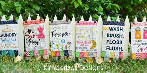 Make & Take: Kimberbell Mini  Wall Hangings