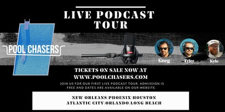 Pool Chasers Live  Tour in Long Beach tickets