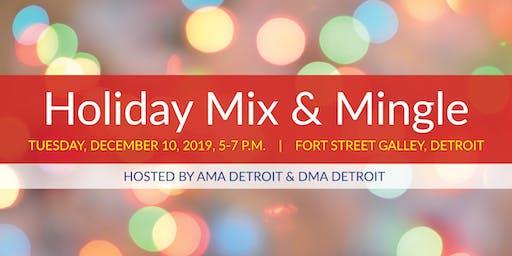 AMA & DMA Detroit Holiday Mix & Mingle Professional Networking